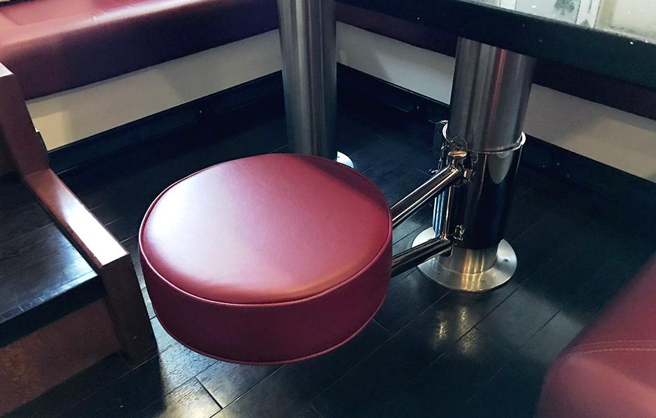 Custom Hideaway Seat